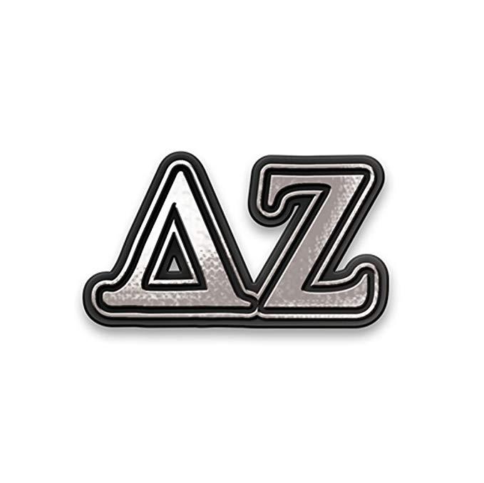 Amazon.com: Greekgear Delta Zeta Chrome Car Emblem: Clothing.
