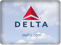 Delta airlines ticket clipart.