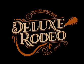 Deluxe Rodeo logo design.