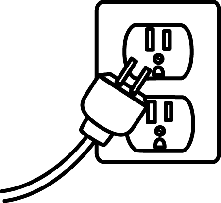 Electricity Clipart Black And White.