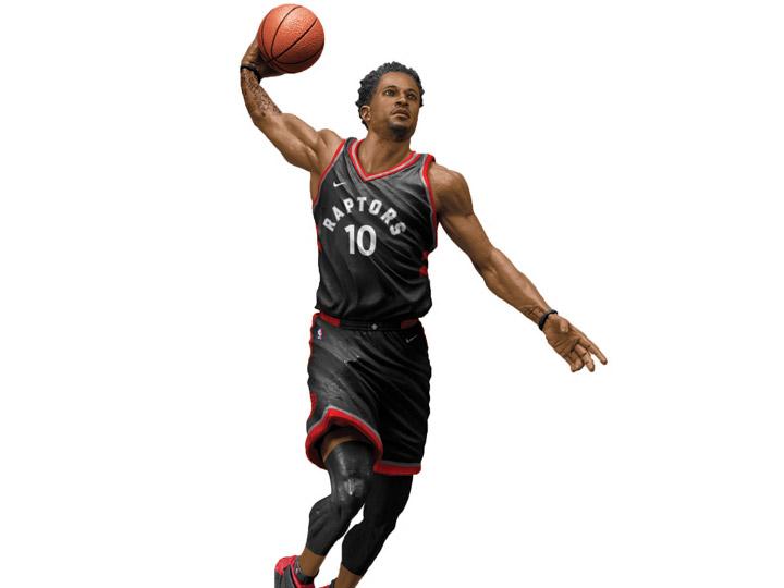 NBA Sportspicks Series 32 DeMar Derozan (Toronto Raptors).