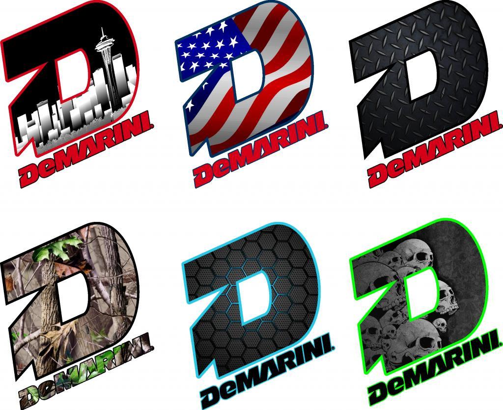 Demarini Logos.