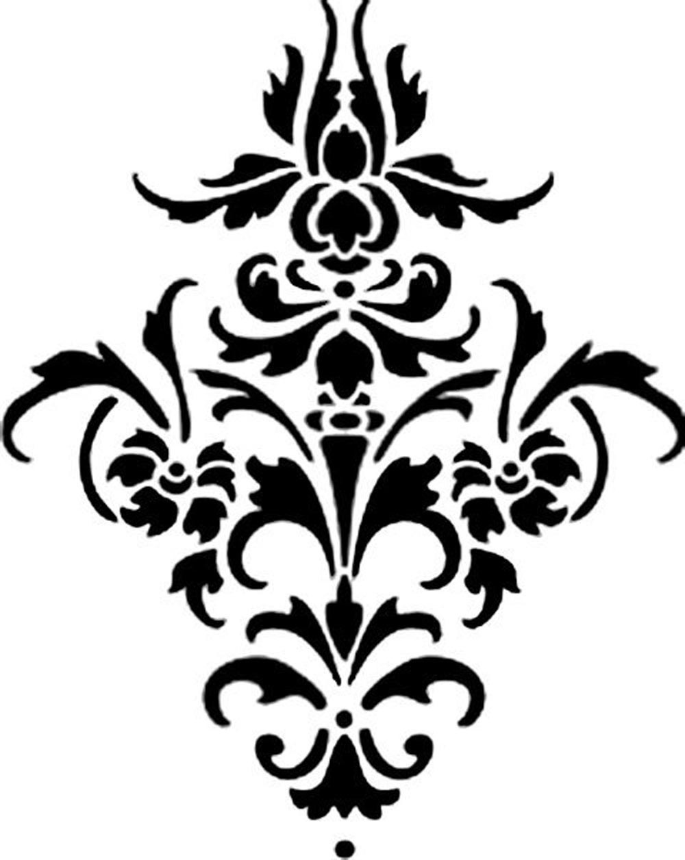 Damask Frames Cliparts.