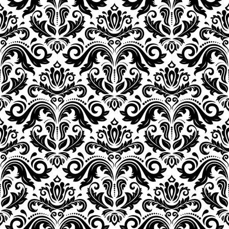 12,633 Black And White Damask Cliparts, Stock Vector And Royalty.