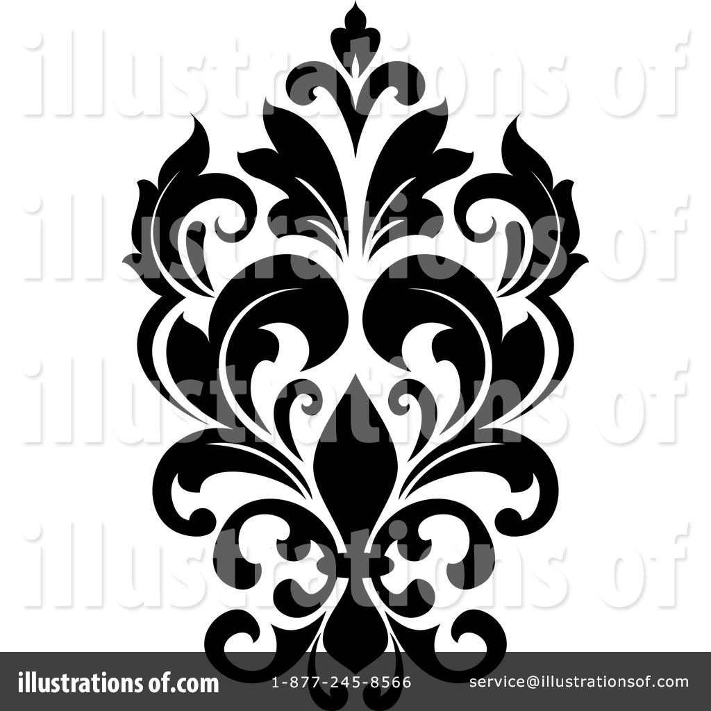 Damask Clipart #1243665.