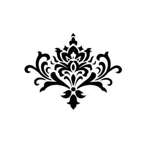 Damask Clipart Damask Clip Art Graphic Ori #298989.