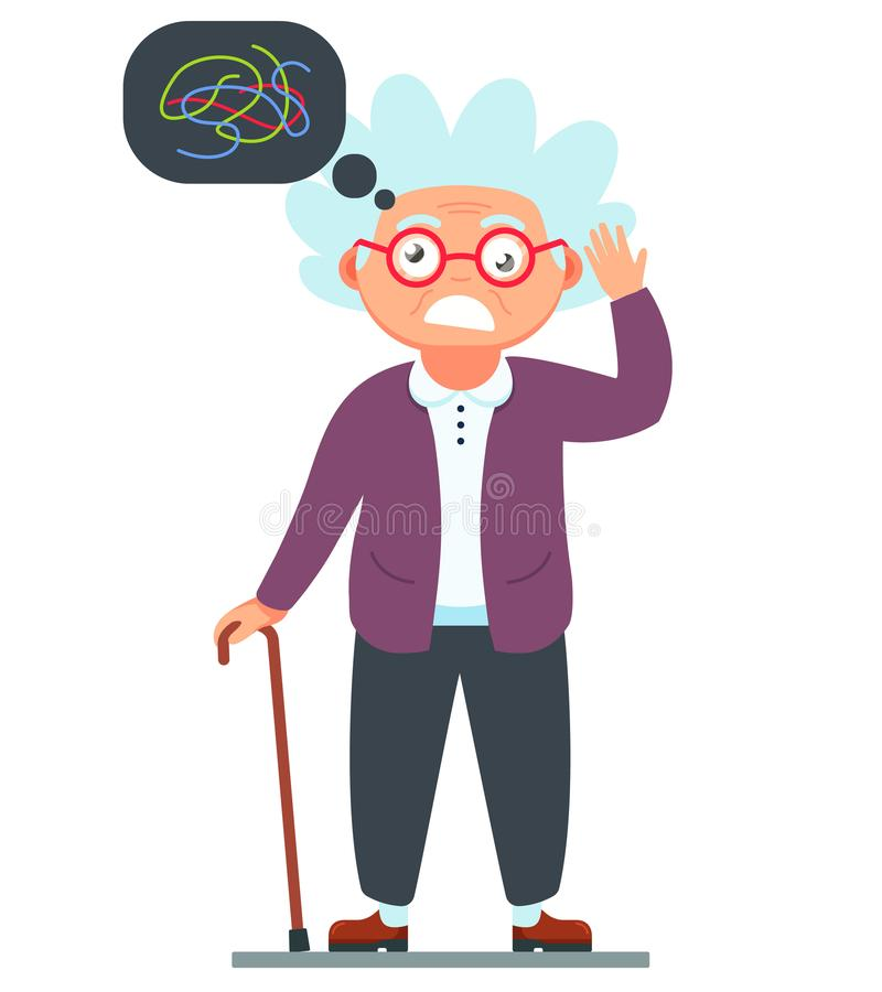 Dementia Stock Illustrations.
