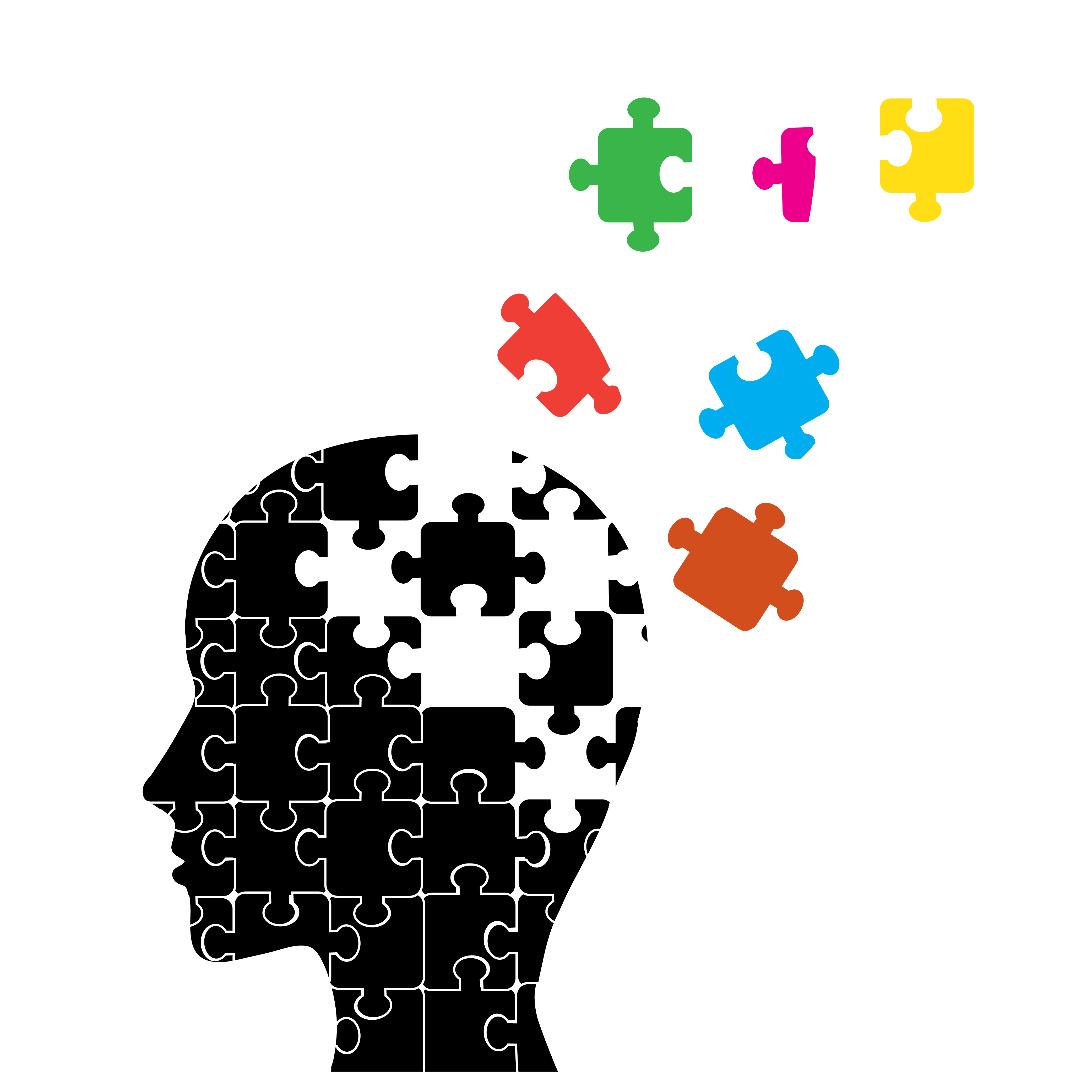 Alzheimer's Dementia Clip Art.