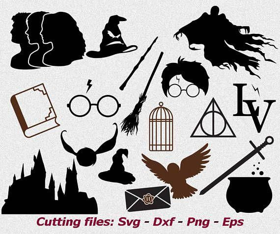 Harry Potter svg files Harry Potter svg Dementor svg Harry.