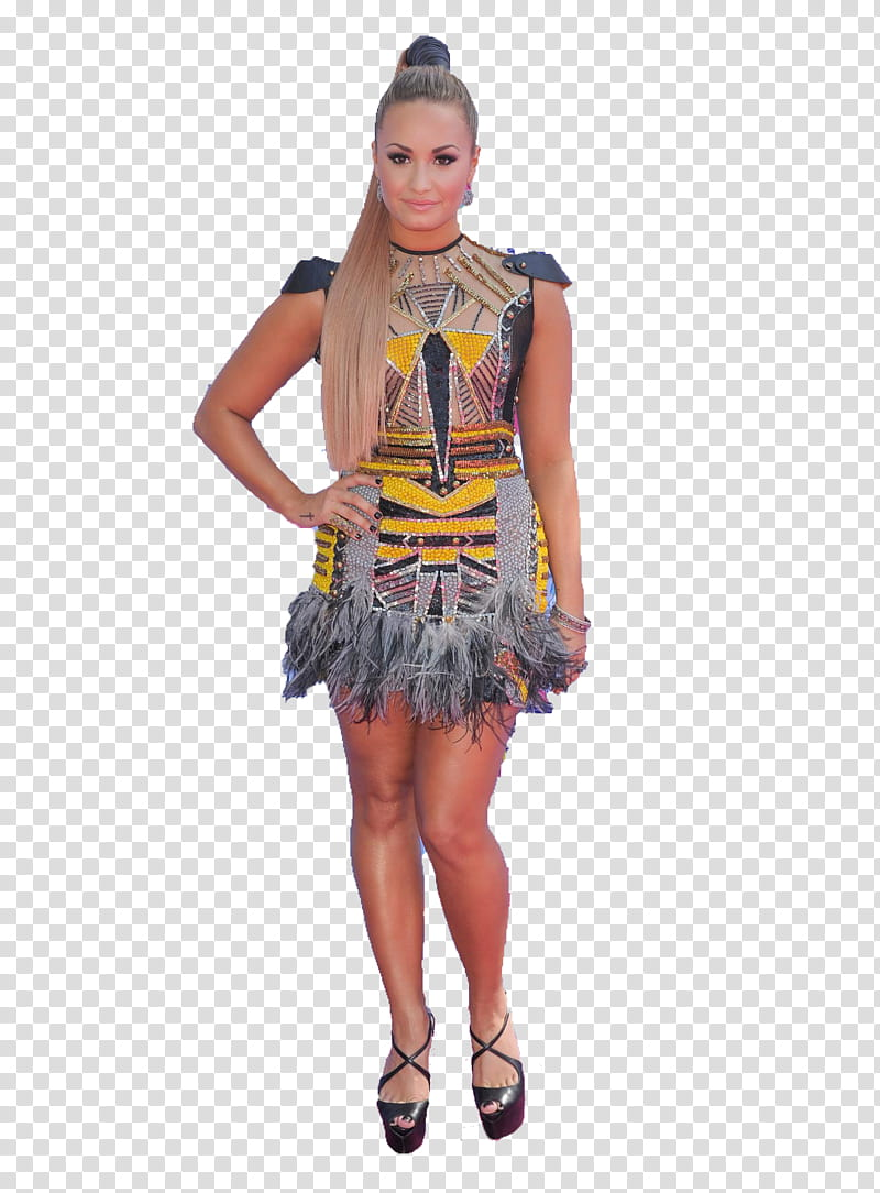 Demi Lovato HD transparent background PNG clipart.