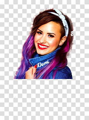 Demi lovato , transparent background PNG clipart.