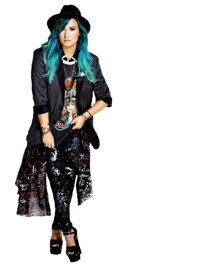 Demi Lovato PNG Transparent Images.