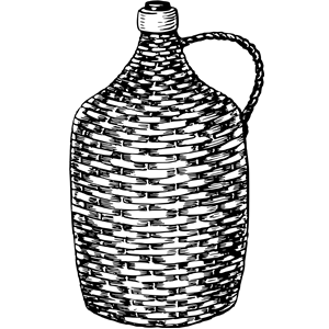Demijohn clipart, cliparts of Demijohn free download (wmf, eps.