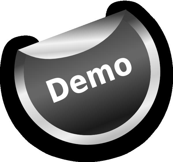 Silver Demo Badge Clip Art at Clker.com.