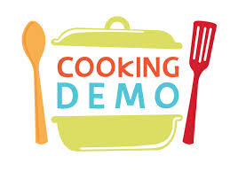 Cooking demo clipart.
