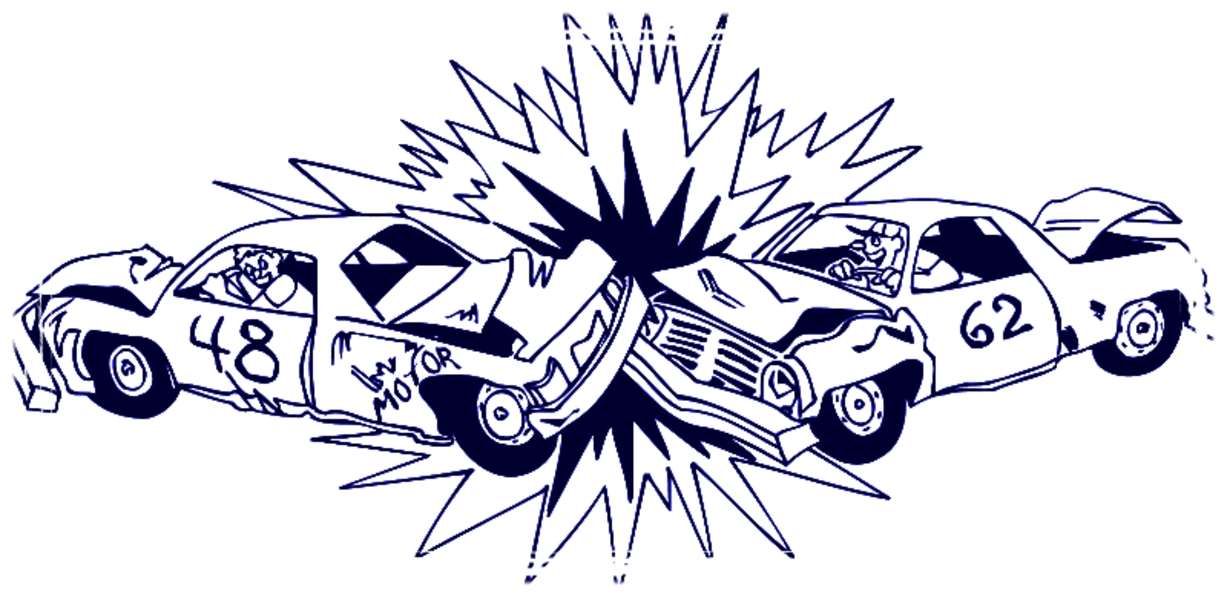 Derby Car Clipart.