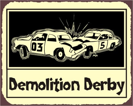 Demolition derby clipart 6 » Clipart Station.