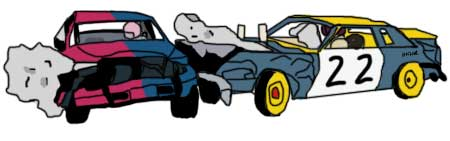 Derby Car Clipart.