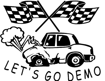 Demolition derby clipart » Clipart Station.