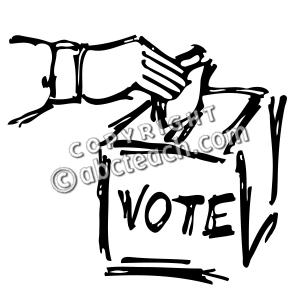 Clip Art of Democracy Government.