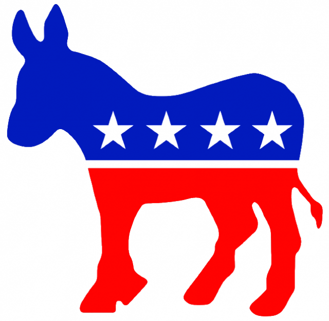Democratic Party Donkey Symbol.