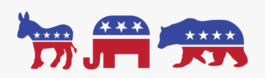 Political Clipart Republican Democrat.
