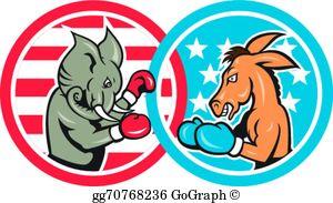 Democratic Party Clip Art.