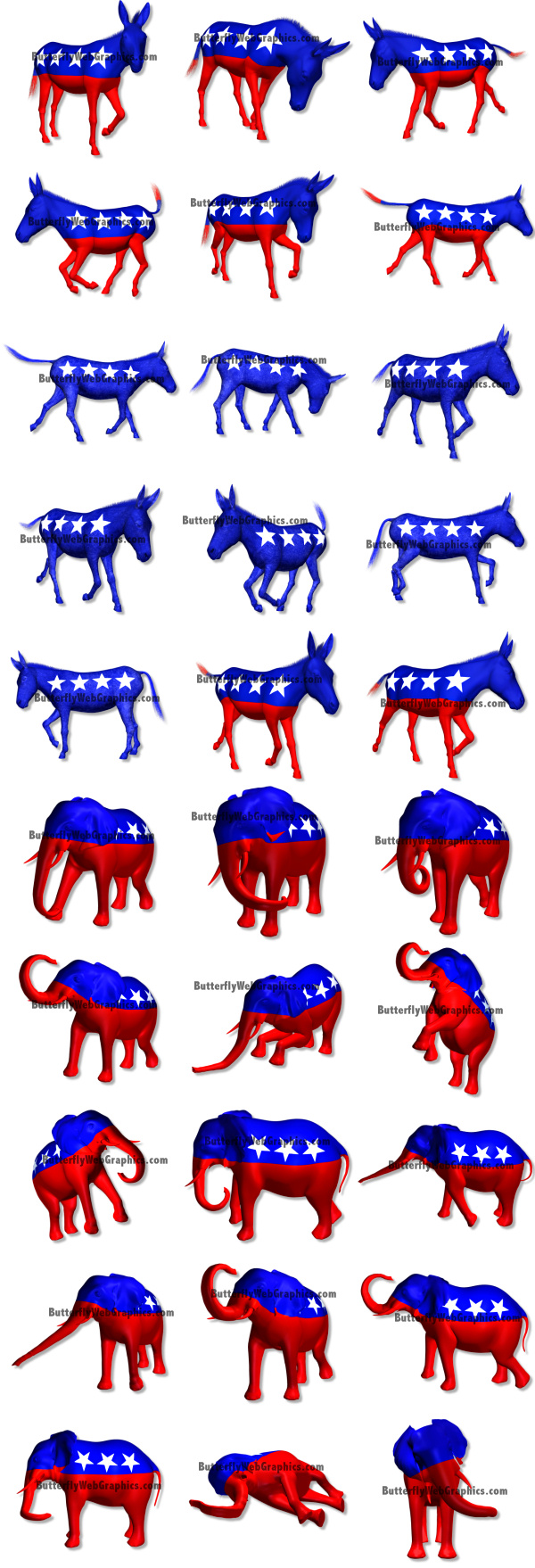 Proud To Be A Democrat Clipart.