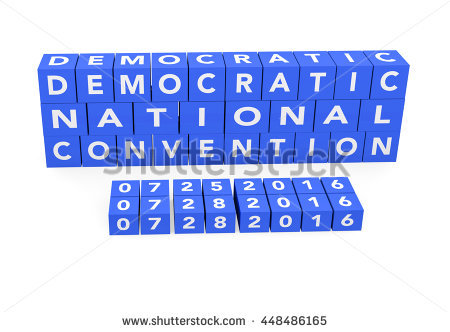 Democratic National Convention Stock Photos, Royalty.