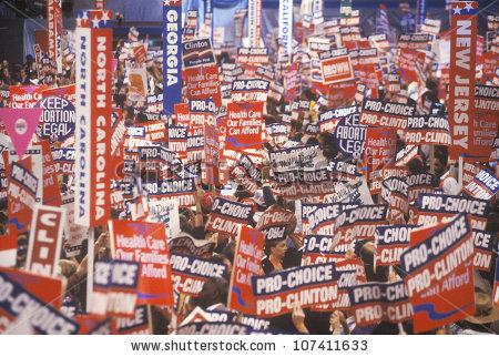 Democratic Convention Stock Photos, Royalty.