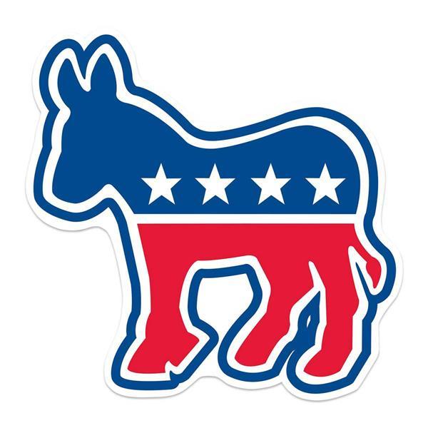 Democratic Donkey Cutout.