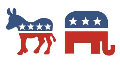 US election: Why a Republican elephant and Democratic donkey.