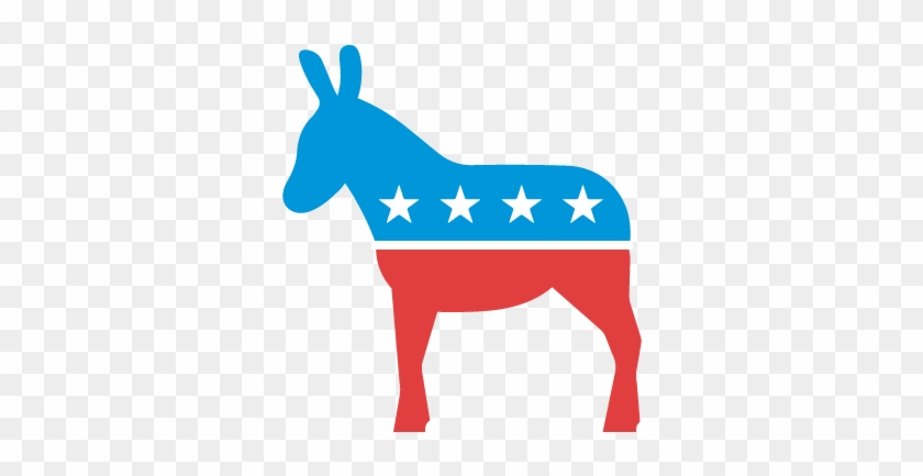 Transparent Democrat Donkey.