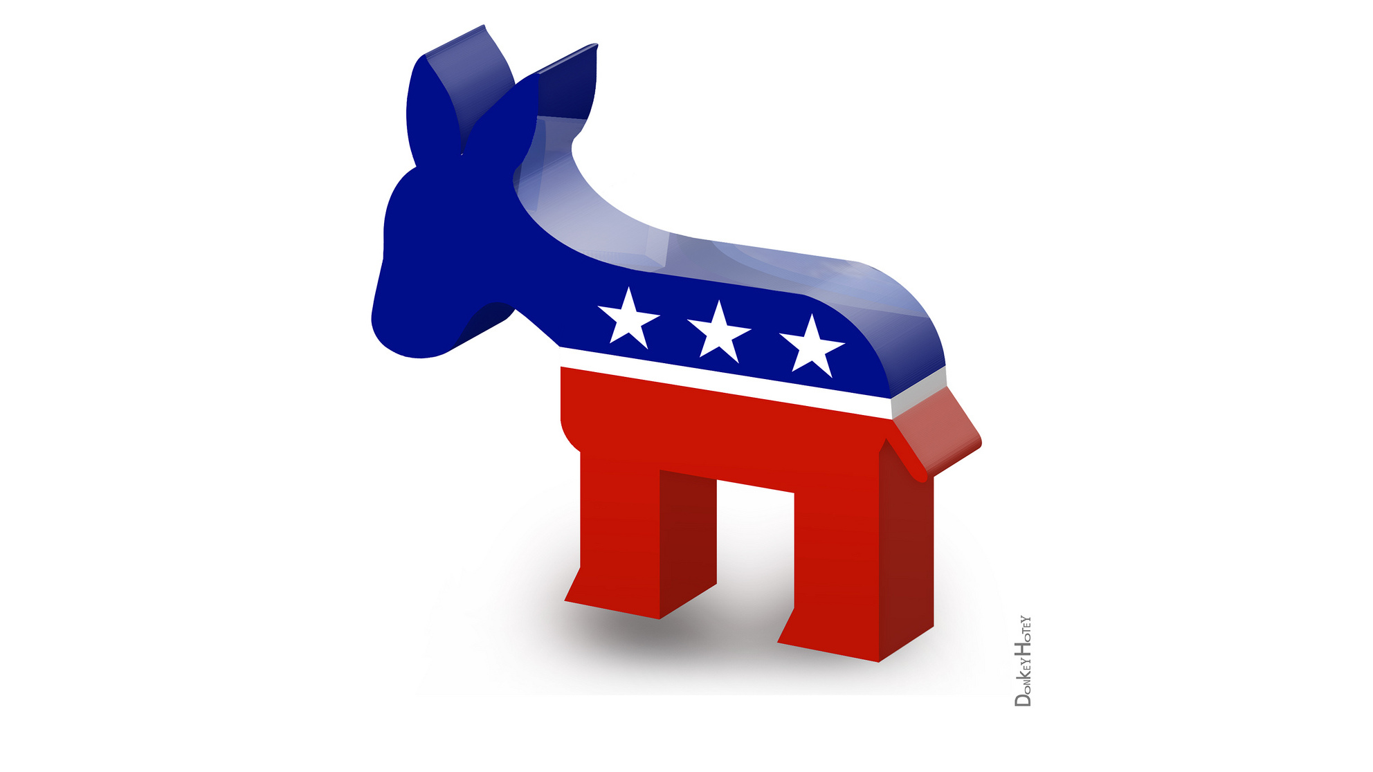 Democratic Party Logo Clipart.