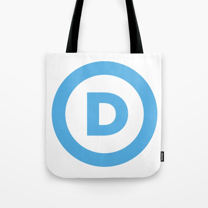 Democratic Party Logo Tote Bag by limitlessdesign.