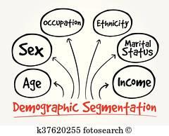 Demographic Clip Art Vectors.
