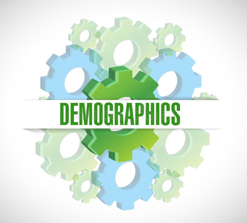 Demographics Sign Stock Illustrations.