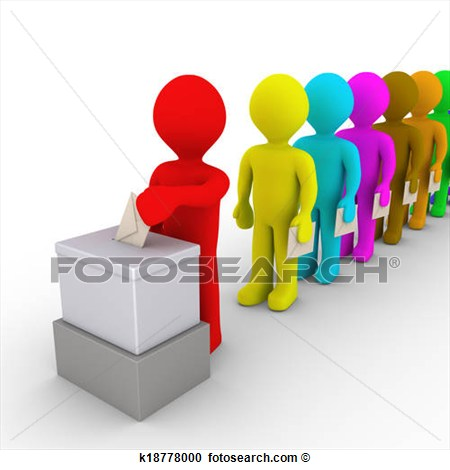 Citizen Vote Clipart.