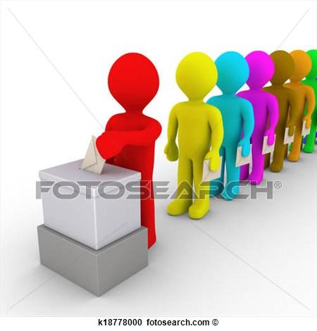 Citizen Vote Clipart.