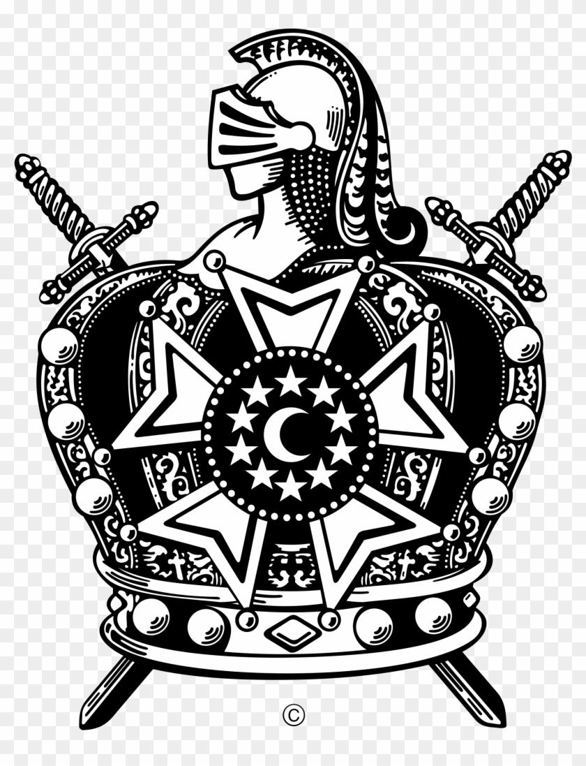 International Supreme Council Order Of De Molay Logo.