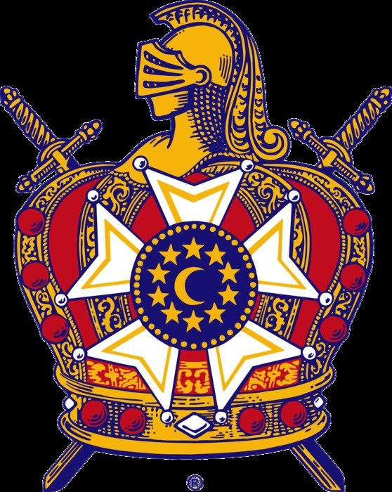 DeMolay Emblem free image.
