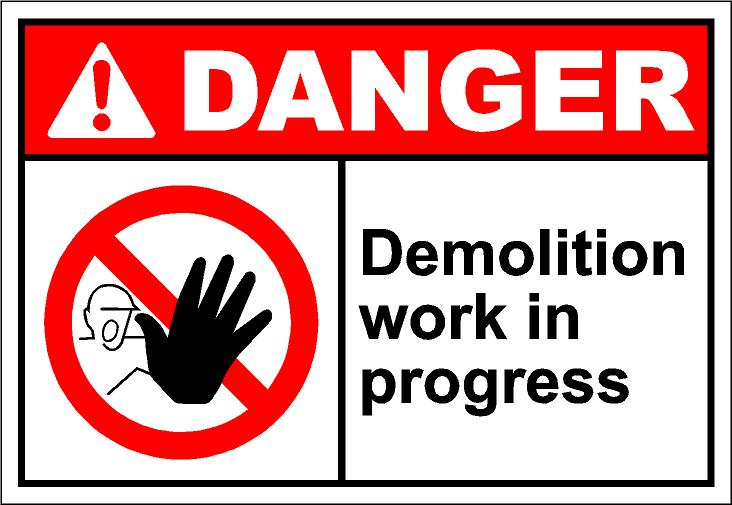 Demolition Clipart.