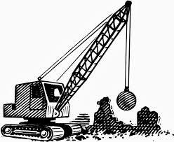 wrecking ball demolition.
