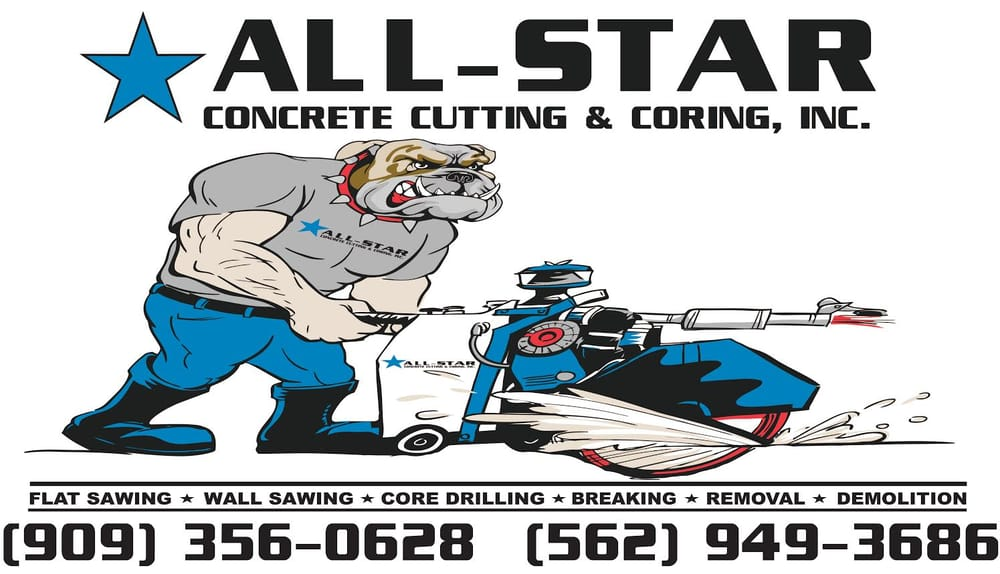 All Star Concrete Cutting & Coring.