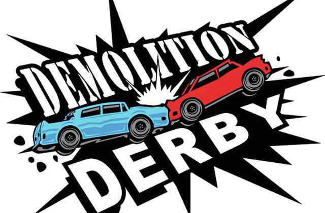 Demolition Derby Is Back At I.F. Winter Carnival.