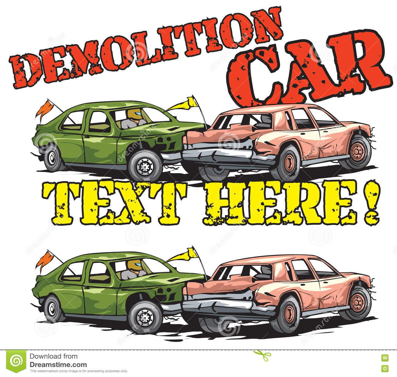 Demolition derby car clipart 7 » Clipart Station.