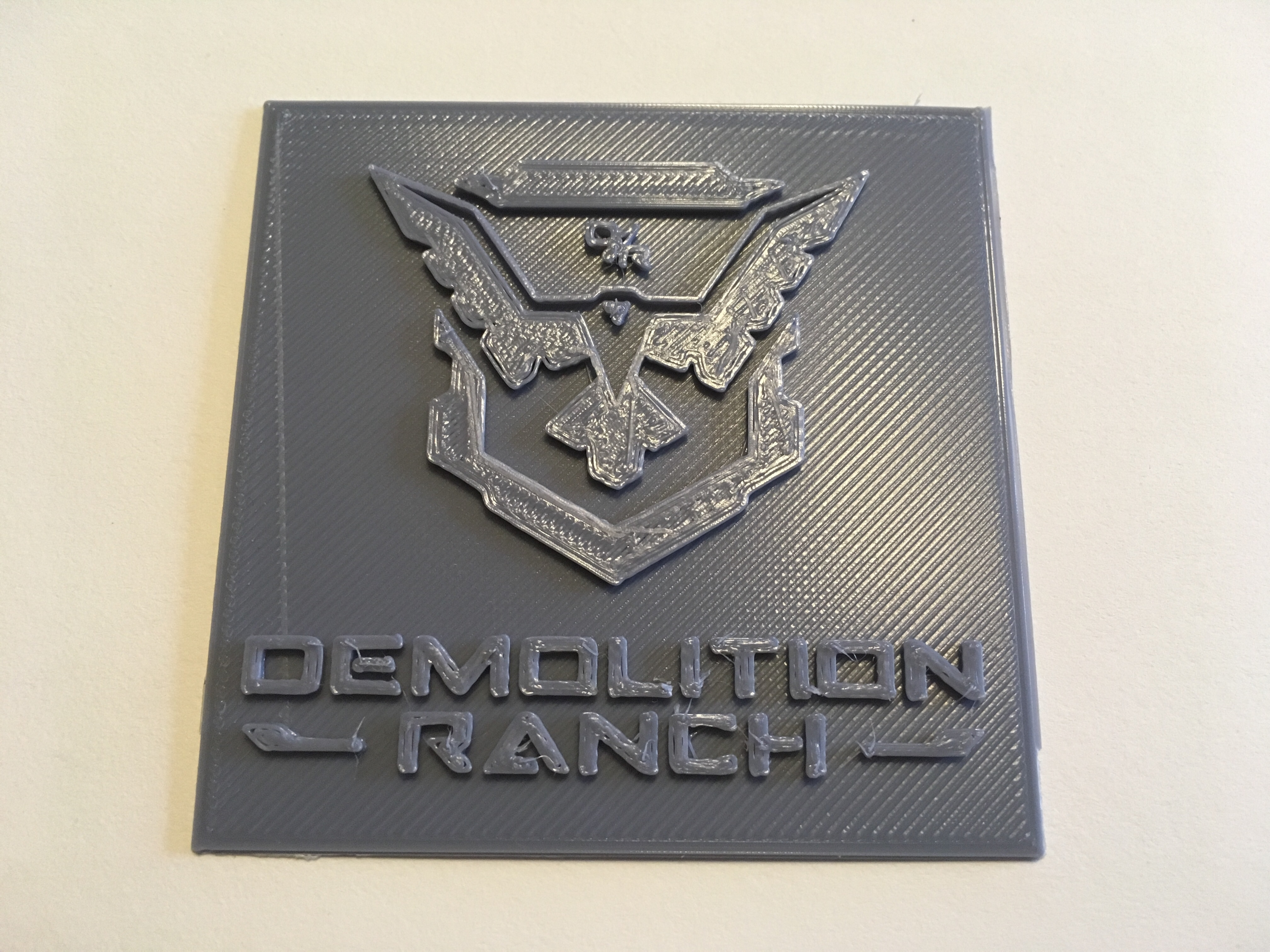 Demolition Ranch Logo by Dramatix084.