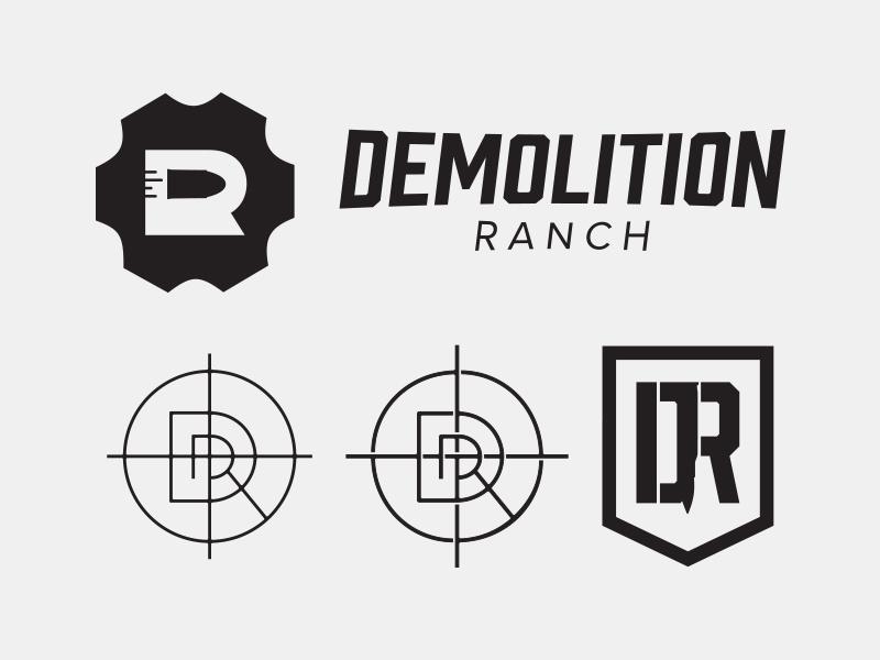 Demolition Ranch Logo by Josh Lowder on Dribbble.