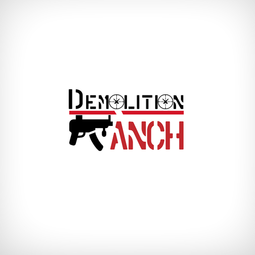 Design for famous youtube star! Demolition Ranch.