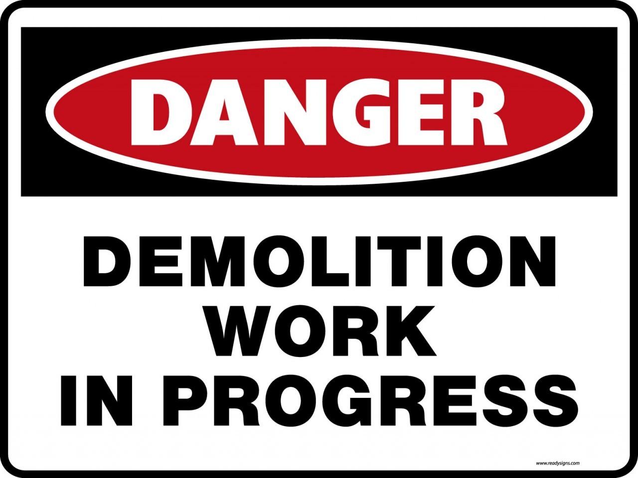 Demolition Blues.